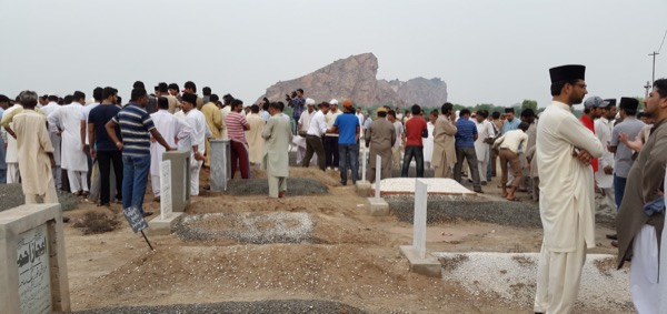 Mass burial service after Lahore Massacre on 28th May 2010. 86 people were killed and more than 120 left injured.