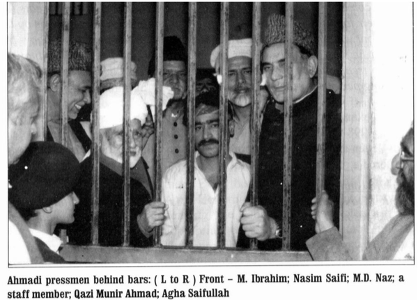 Over the years, countless Ahmadis have been imprisoned due to Pakistan's harsh anti-blasphemy laws.