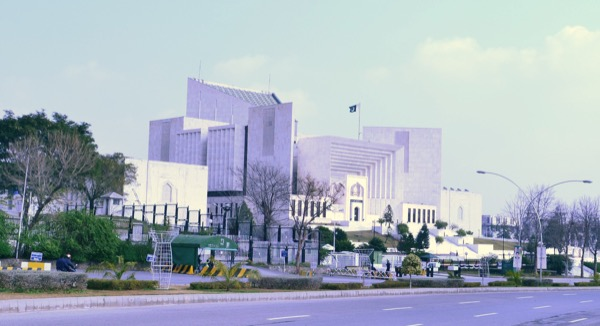 Supreme Court Building of Pakistan in Islamabad. Islamabad is the capital city of Pakistan. © Khalid Mahmood