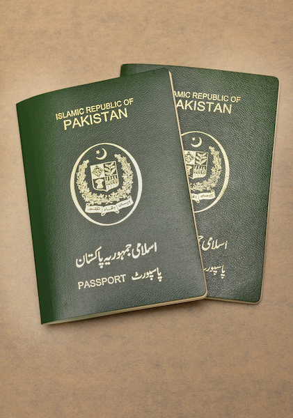 Ahmadi Muslims must declare on their passports if they associate with the Community and then are told they cannot call themselves Muslim if they wish to be a Pakistani citizen and obtain a passport. Therefore, the government has targeted the Ahmadiyya Community in particular and used every method to exile them from Pakistan. © Xubayr Mayo | Shutterstock.com