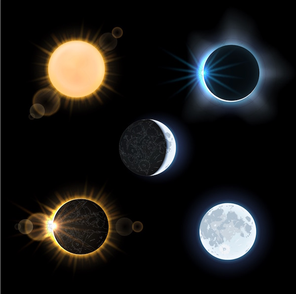The eclipse of the moon has been seen as a major sign for the coming of the Messiah in the latter days where the world will become uni ed once again under the banner of peace. This momentous sign is known throughout the religious world and is understood as clear evidence for the proof of the Messiah. © microvector | Shutterstock.com