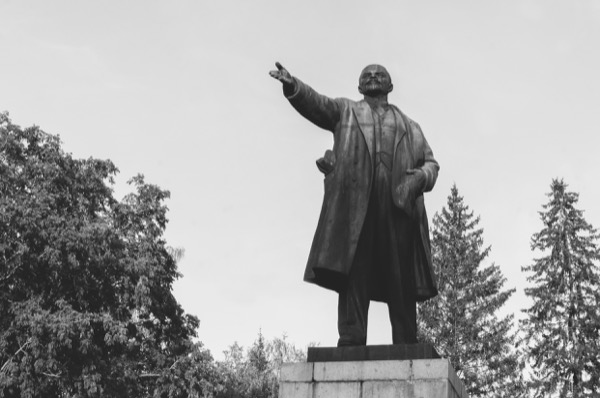 God did not want the Communist system to prosper, so it failed—as foretold in Ezekiel several thousand years before. © kkhrustov | Shutterstock.com