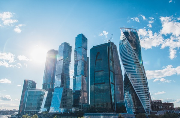 Only recently has Russia grown to prominence with international business and commerce. For decades, cities like Moscow were not as economically and socially powerful as they are today. © User Upslim | Shutterstock.com