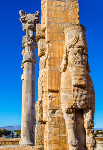 The ruins of the Persian Empire show the destruction and chaos that was brought to them. Whole civilisations were wiped out as is described in this prophesy from the book of Ezekiel in the Bible. © Leonid Andronov | Shutterstock.com